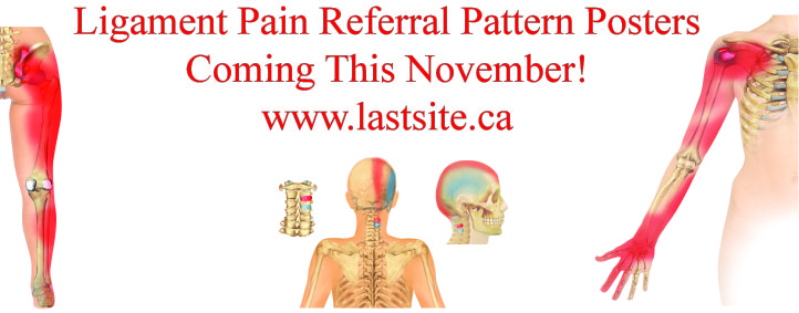 Ligament Pain Referral Pattern Posters Coming Soon LASTechnique Gorgeous Pain Referral Patterns