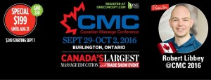 Canadian Massage Conference and Trade Show 2016!